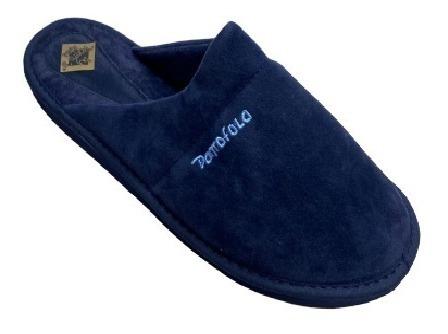 Pantufla Gamuzada Pantofola P/hombre 39 Al 46/calzados Tirel