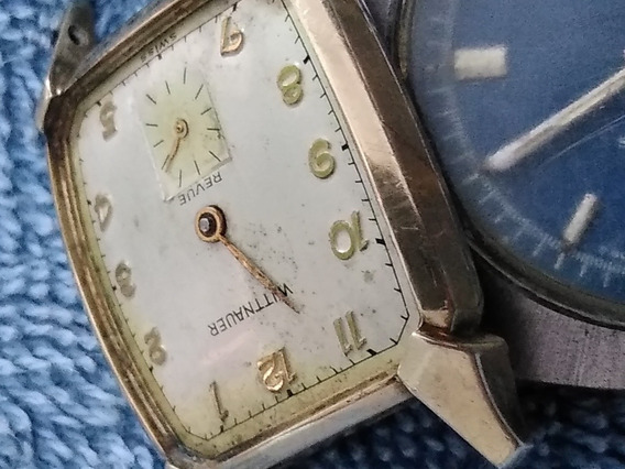 Reloj Wittnauer Revue Cal 76. Chapa De Oro. Para Reparar