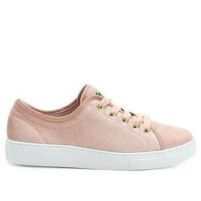 42e30d1f03 Tenis Azaleia Veludo Rosa - Calçados