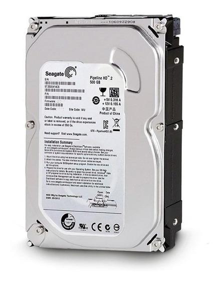 Hd 500gb Seagate / Wd Sata Pc Dvr Lacrado Garantia