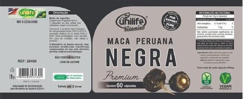 maca peruana preta ou vermelha