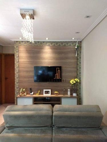 Imagem 1 de 30 de Cobertura Com 2 Dormitórios À Venda, 92 M² Por R$ 430.000,00 - Parque Central - Santo André/sp - Co0120