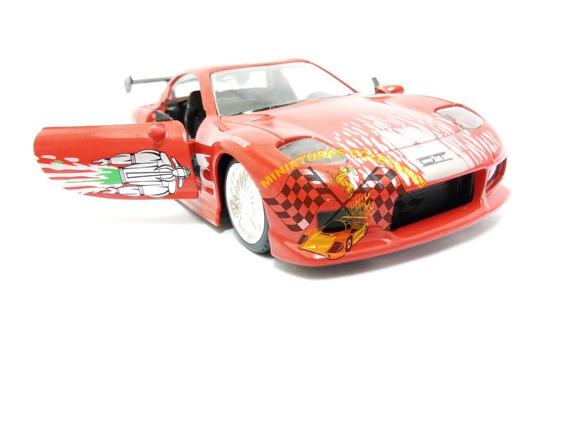 Miniatura Mazda Rx-7 Toretto Velozes E Furiosos Jada 1:32