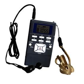 Rádio Bolso Portátil Com Bateria Fm - O Melhor Recepção E Lo