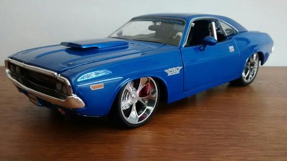 1970 Dodge Challenger R/t - Maisto 1:24 ( Não Jada )
