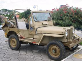 Carro Jeep Militar Willys 4x4 Overland 1951 Conversível Jipe