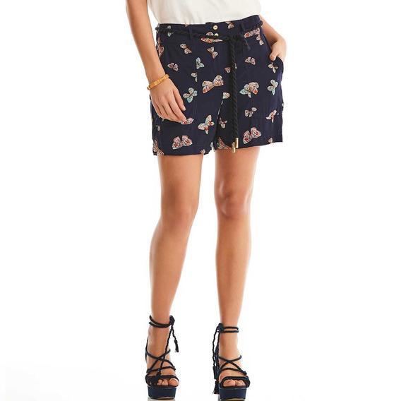 Shorts Estampa Borboleta