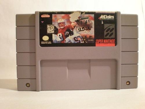 Imagen 1 de 2 de Nfl Quarterback Club 96 - Super Nintendo Original