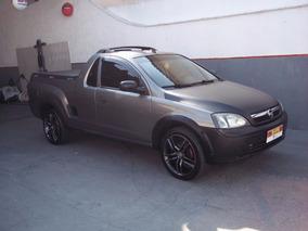 Gm Chevrolet Montana 1.8 Flex Ac + Dh + Bancos De Couro
