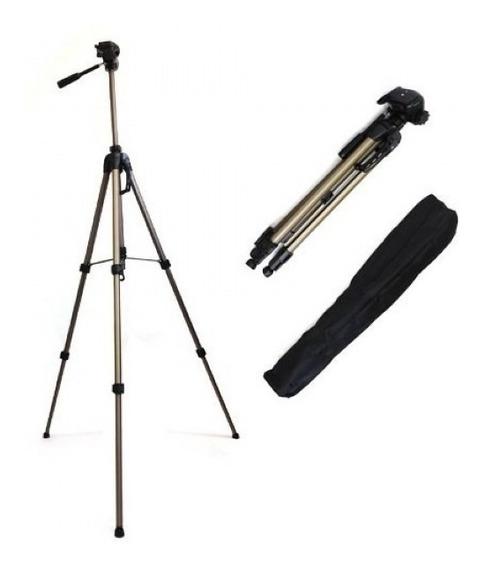 Tripé Para Cameras Com Bolsa Altura Ate 1,60metros Wt3750