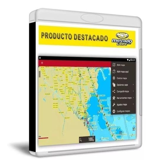 Mapa Carta Nautica 2020 Para Android Celular Tablet Con Gps