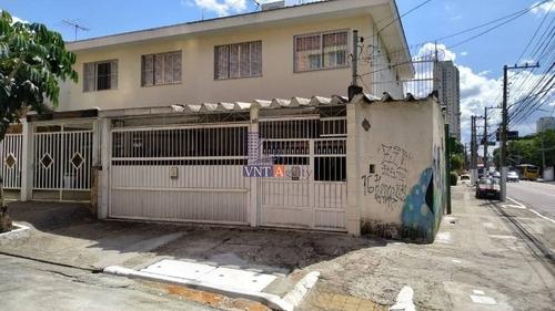 Sobrado Para Venda No Bairro Chácara Tatuapé, 3 Dorm, 1 Suíte, 3 Vagas, 160 M, 168 M - 7926