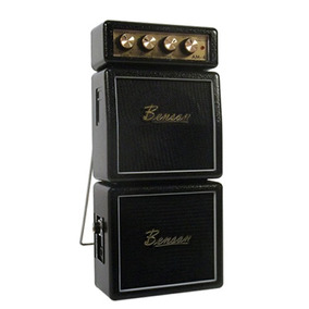 Mini Amplificador Benson Guitarra 2w Am-4b Preto Para Estudo