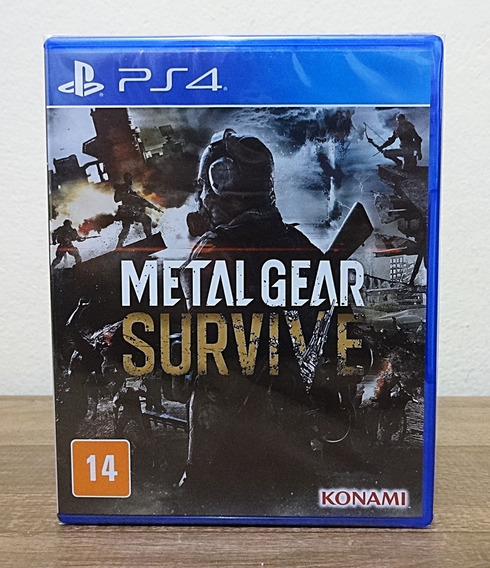 Metal Gear Survive Ps4 Legendado Em Português