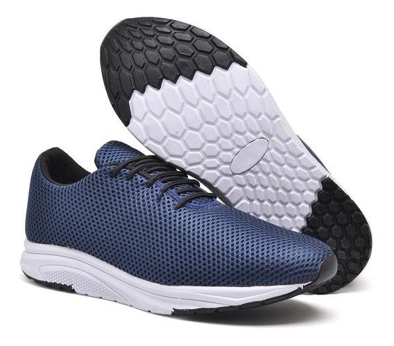 Sapatênis Masculino Jogger Azul Casual Lançamento