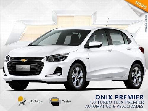 Onix 1.0 Turbo Premier Automático 2021 Zero Km