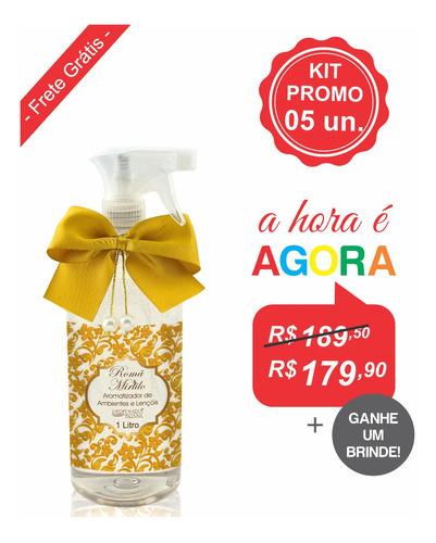 Kit Aromatizador Premium 1 Litro (5un.)
