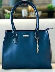 Bolsa Feminina De Mão Inspiracao Schutz Azul
