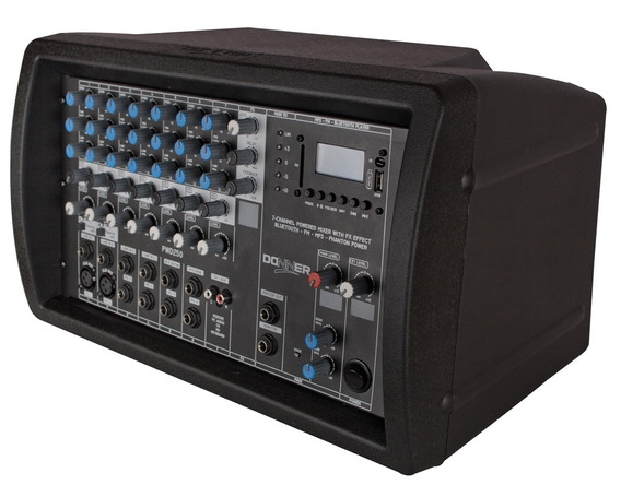 Mixer Amplificado / 4 Ohms / Pwd 250