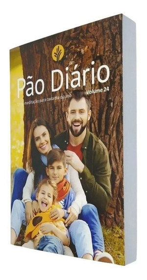 Livro Pão Diário Volume 24 Capa Família - Pão Diário 2021