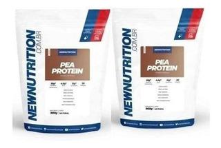 Kit 2x Whey Pro 1kg New Nutrition Suplemento Alimentar