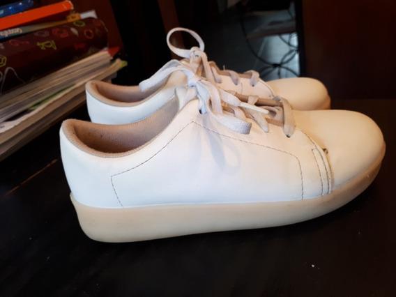 Zapatillas Blancas Nro 32 Como Nuevas