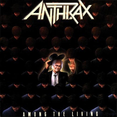 Cd Anthrax- Among The Living (importado)