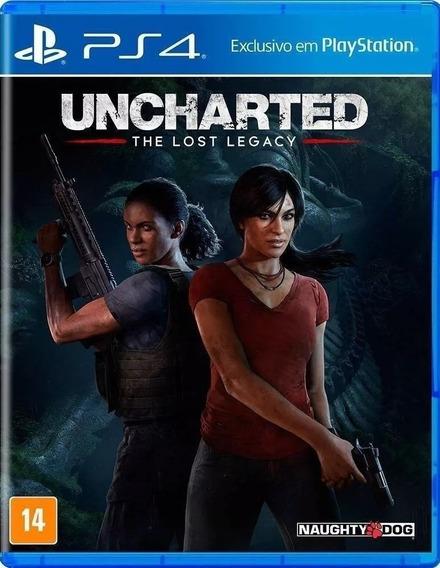 Jogo Uncharted The Lost Legacy Ps4 Português Frete Grátis
