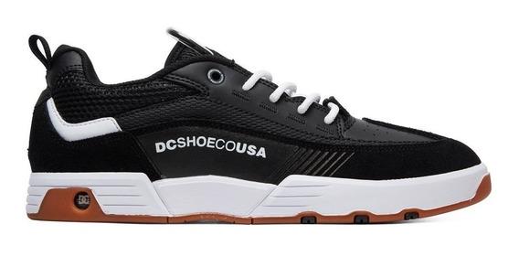Tênis Dc Shoes Legacy Slim 98 - Black White