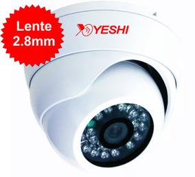 Câmera Dome Full Hd 1080p 2.0mpixel Lente 2.8mm Ahd-m!