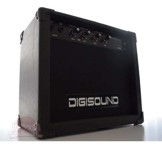 Amplificador Digisound 15w Distorsion Overdrive Guitarra Ele