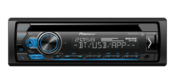 Som automotivo Pioneer DEH S4180BT com USB e bluetooth