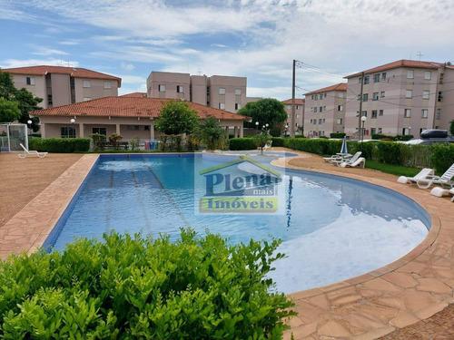 Imagem 1 de 28 de Apartamento Com 2 Dormitórios À Venda, 49 M² Por R$ 192.000,00 - Jardim Santa Maria (nova Veneza) - Sumaré/sp - Ap1325