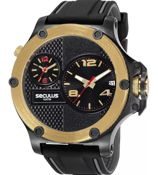 Relógio Seculus Masculino 20732gpsvhi1
