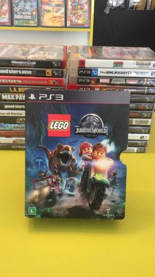 Lego Jurassic World Ps3 Box Mídia Física Á Pronta Entrega