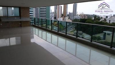 Apartamento Para Venda Em Salvador, Ondina, 4 Dormitórios, 4 Suítes, 6 Banheiros, 4 Vagas - 817