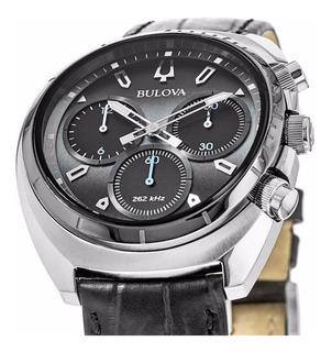 Reloj Hombre Bulova 98a155 Curvo X Local + 35% Off + Regalo!