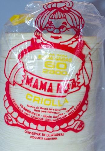 Tubos De Empanadas Criolla Y Hojaldre X 60 Unidades 14cm