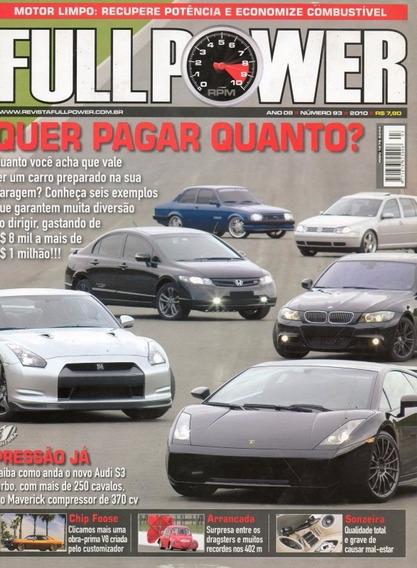 Fullpower Nº93 Chevette Civic Golf Bmw Lamborghini Foose