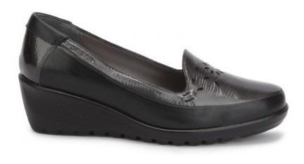 Zapato Onena Mujer Piel Negro 3925