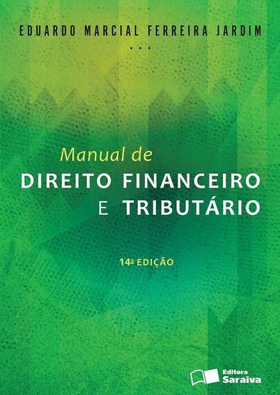 Manual De Direito Financeiro E Tributário - 14ª Ed. 2016