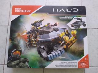 Halo Mega Bloks Dual Mode Unsc Warthog 330 Pzs.