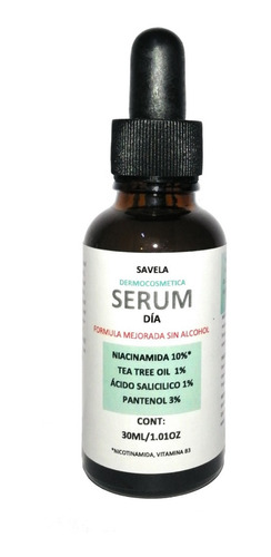 Imagen 1 de 2 de Serum Dia, Niacinamida 10%, Pantenol, Ac. Salicilico 30ml