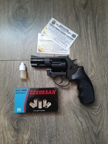 Revolver Traumatico Ekol Viper 2.5+ 50tiros+ Aceite