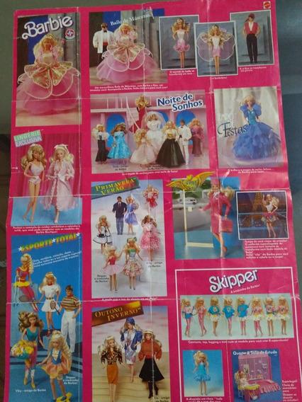 Catálogo Da Barbie Antigo Estrela Mattel
