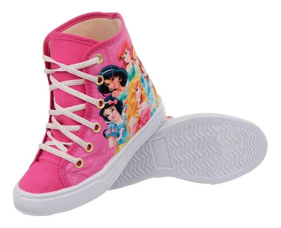 Tenis Infantil Feminino Minnie Princesas Disney Promoção