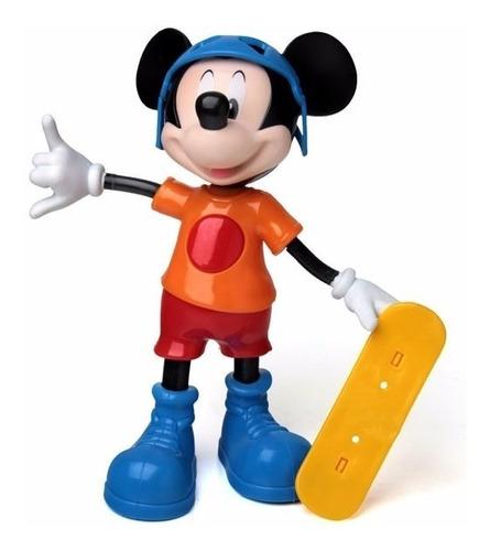 Boneco Mickey Radical Falante Em Português Elka