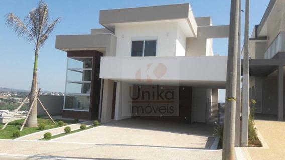 Casa Com 3 Dormitórios À Venda, 329 M² Por R$ 1.600.000 - Condomínio Reserva Santa Rosa - Itatiba/sp - Ca1267