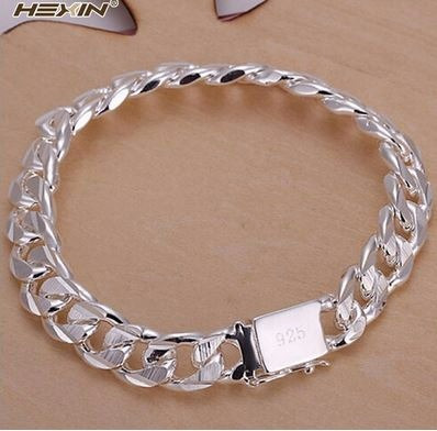 2345j - Hexin 925 Sterling Silver Plated Fashion Jewelry