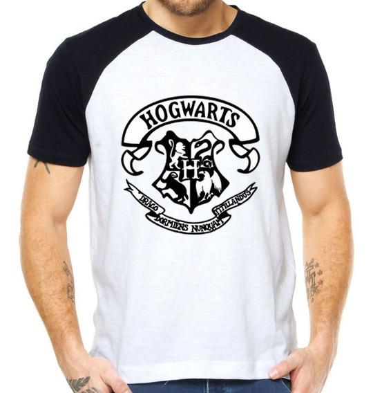 Camisetas Hogwarts Brasao Camisas Harry Potter Grifinoria